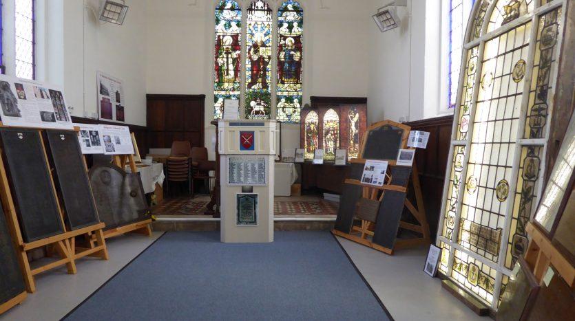 At Risk War Memorials Project - Interior View
