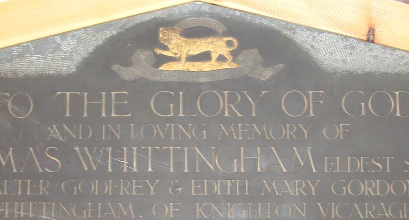 Leicester, Leicester City, County and Rutland At Risk War Memorials Project