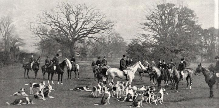 Quorn Hunt 1897